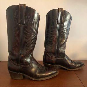 Vintage Frye Cowboy Boots : men's size 7.5